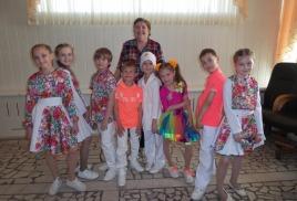 Соловушки поздравили сотрудников Автотранспортной поликлиники